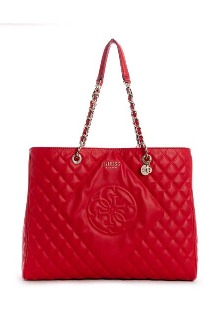 a7395b39d CARTERA GUESS SWEET CANDY LARGE CARRYALL RED ROJO