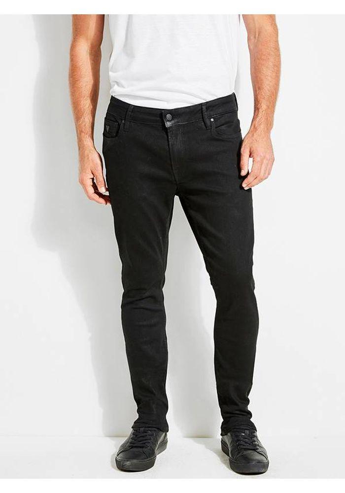 Jeans Guess Skinny Mebk Negro Guess Peru