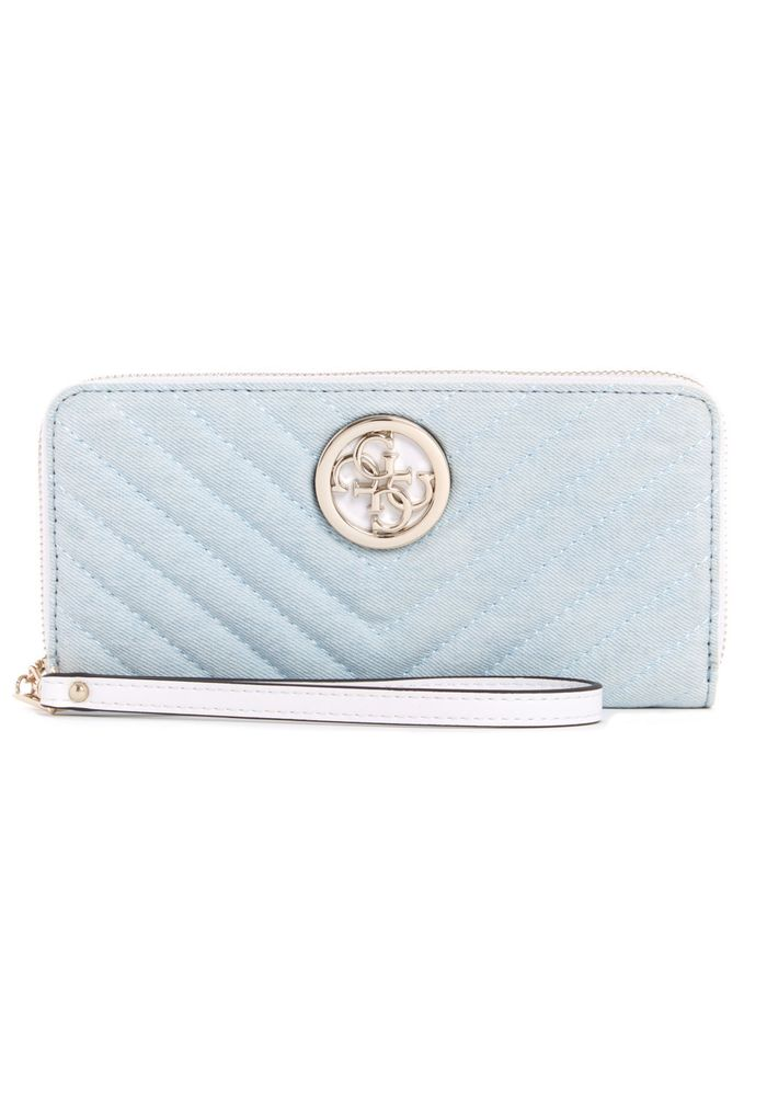 Cartera Multicolor Guess Kamryn SLG Large Zip Around para Mujer